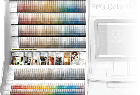 PPG The Voice Of Color® Kiosk