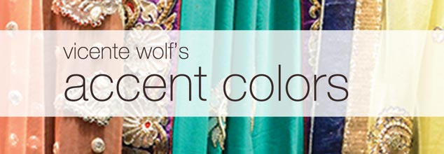 Vicente Wolf's Accent Colors Collection