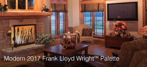 Modern 2017 Frank Lloyd Wright Palette