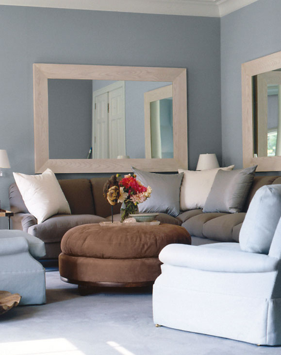 Blue Gray Color vicente wolf's blue gray paint colors collection