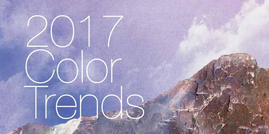 Order 2017 Global Color Trends