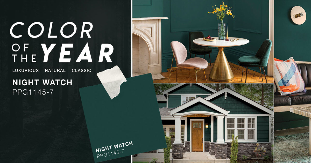 The 2018 paint color of the year presented by voice of color - 2019 color of the year ...