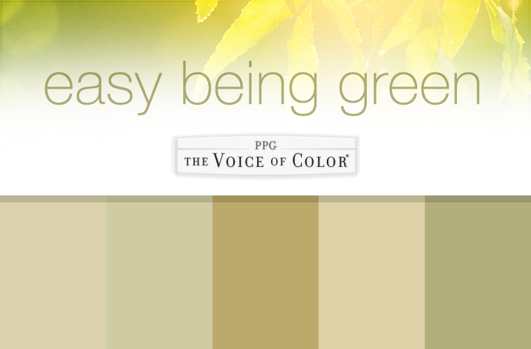 the easy being green paint collection